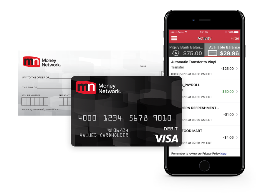 get a money network card today - Prepaid Cards With Mobile Deposit